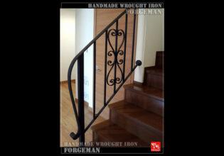 階段フェンス,アイアン,ロートアイアン,シンプル,おしゃれ