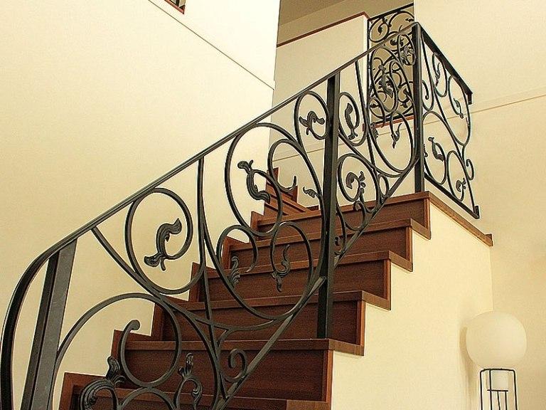 ロートアイアン,階段手摺りフェンス