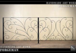 ロートアイアン,フェンス,手摺り,手すり,制作メーカー,特注制作,セミオーダー